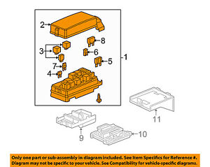 Gm Oem electrical Fuse Relay Box 20819328