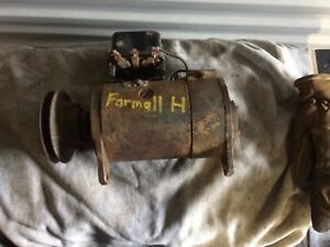 Farmall H 6v Generator Regulator Belt Drive Pulley