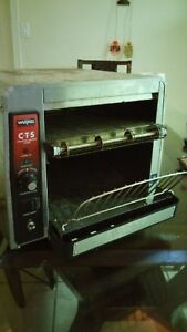 Used Waring Commercial Stainless Steel toaster Oven Model No Cts1000b