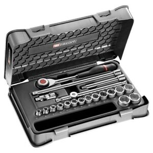 Facom 3 8in Drive 20 Piece Metric Socket Set 7 22mm J 360 3p6 Sale Time Is Now