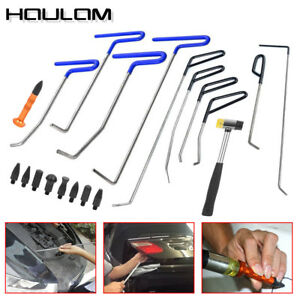 20pcs New Rods New Tools Paintless Dent Repair Kit Auto Body Tools Hammer Tap