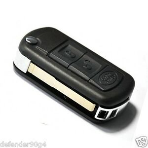 Range Rover Sport Land Rover Discovery Lr3 3 Buttons Remote Key Fob Case Blade