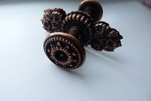 Vintage Door Knobs Metal Door Handles Bronze Color Door Knob