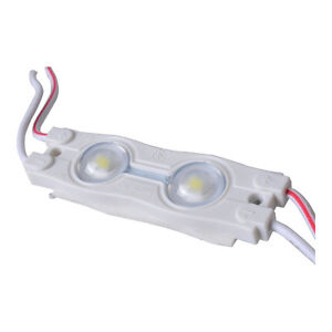 Smd 2835 Waterproof Led Module 2 Led Chips With Optical Lens White Light 0 72w