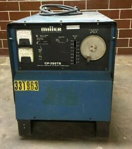 Miller Welder Cp 250ts Mig Constant Voltage Dc Arc Welding Power Source