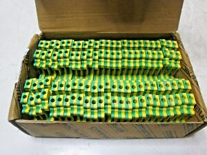 Box Of 50 Altech Cgt4n Screw Clamp Ground Terminal 22 10 Awg 6 Mm W Free Ship