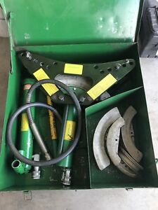 Greenlee 880 One Shot Conduit Pipe Bender