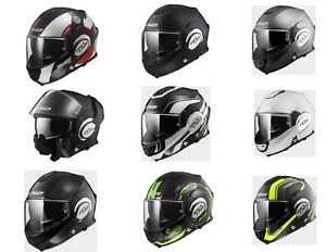 *FAST FREE SHIPPING*  LS2 VALIANT Motorcycle Modular Helmet (All Colors)