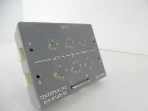 Tektronix 013 0099 02 Test Fixture Fet S Adapter