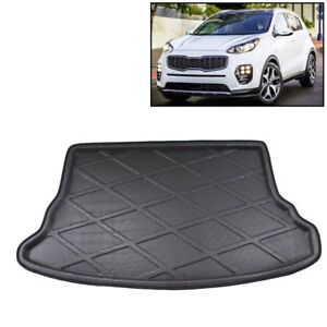 Fit For Kia Sportage 2007 2013 Rear Trunk Mat Boot Liner Cargo Tray Floor Carpet