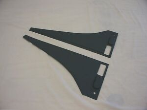 Allis Chalmers Wc Unstyled Hood Wings pair