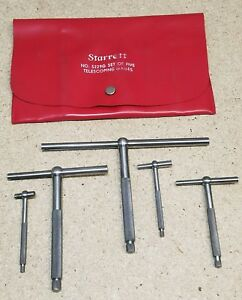 Starrett No 229 Telescoping Gages Set Of 5 1 2 To 6
