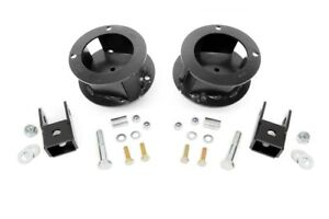 Rough Country 2 5 Dodge Leveling Kit 14 18 Ram 2500 13 18 Ram 3500 4wd