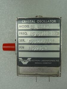 Vectron Model 254 2357 Crystal Oscillator P n 129235 1 45 57888 Mhz