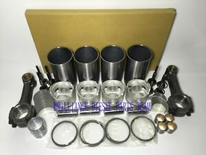 Isuzu 4bd2 Engine Rebuild Kit Con rods For Nkr Npr Truck Generator Loader Etc