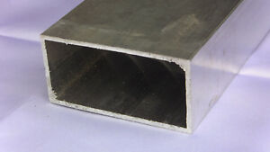 Aluminum Architectural Rectangle Tube 125 X 2 X 4 X 48 In 6063 Uaac