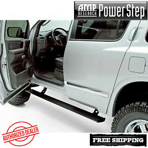 Amp Research Powerstep Automatic Power Running Boards 2004 2015 Titan Cc Kc