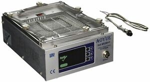 Aoyue 853a Programmable Quart Infrared Preheating Station With Dual Tem New