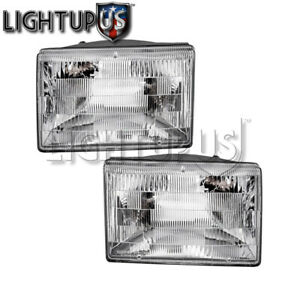Left Right Sides Pair Head Lights For 1993 1998 Jeep Grand Cherokee
