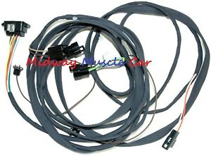 Coupe Rear Body Tail Light Wiring Harness 68 1968 Pontiac Gto Lemans Tempest