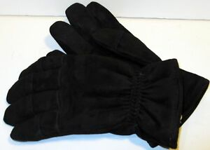 Size Medium Black Firefighter Heavy Duty Work Gloves Nfpa Rated New