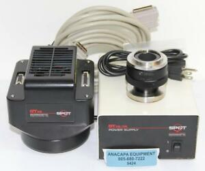 Diagnostic Instruments Spot 7 4 Rt Ke Camera D10nef Mount And Power Supply 5424