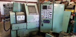 Mori Seiki Tl 1 Lathe Operational With Tool Holders And Manuals