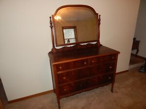Antique Dresser W Mirror Star Furniture Company