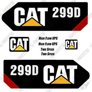 Caterpillar 299 d Decal Kit Equipment Decals