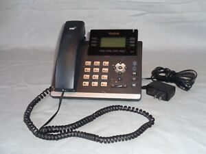 Yealink Sip T41p Hd Voice Ip Business Telephone Phone 6 Line Voip One Talk Bj