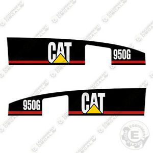 Caterpillar 950g Decal Kit Equipment Decals
