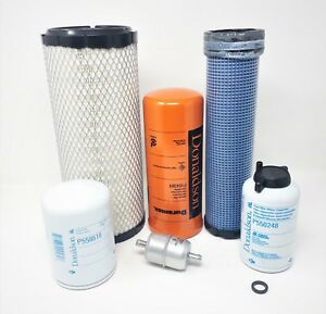 Case 40xt 60xt 75xt 85xt Skid Steer Filter Kit all Original D