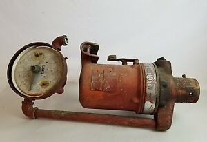 Vintage Fill rite Mechanical Gas Fuel Pump Dispenser Flow Meter Ossian Indiana