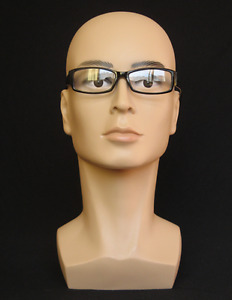New Male Mannequin Head Glasses Hat Wig Mould Show Stand Helmet Mask Model