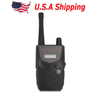 Usa Ship Hs 007b Wireless Tap Detector Audio Cell Phone Spy Camera 20 6000mhz