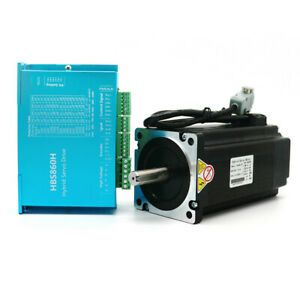 Nema34 12nm Hybrid Servo Dsp Closed loop Stepper Motor Driver Kit Cnc Engraving