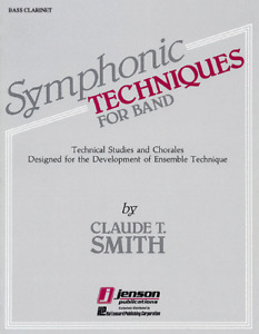 SYMPHONIC TECHNIQUES FOR BAND FOR BASS CLARINET MUSIC BOOK-BRAND NEW ON SALE!!