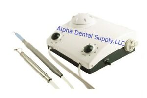 Deldent Jetsonic 2000m Dental Scaler Air Polisher Combo Unit 115v