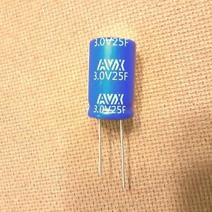 25f farad 3v Capacitor Supercapacitor Ultracapacitor Very Low Esr