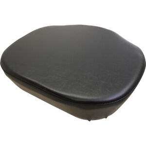 Ammf285s Seat Cushion Black Vinyl For Massey Ferguson 30 50 65 95 Tractors