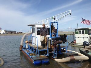 22 Foot dahlke Gold Dredge Nome Ak With Support Equipment