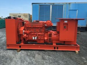 _350 Kw Cummins Onan Generator Set 1997 Only 486 Hours 600 Volts Tested
