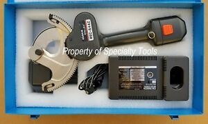 Huskie Rec 54ac Battery Operated 14 4v Robo Wire Cutter Cable Cutting Tool