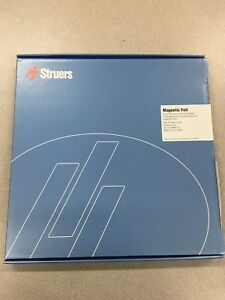New In Box Struers Magnetic Foil For Md system For 300mm Dia 40800115