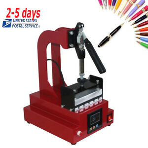 Digital Pen Heat Press Machine For Ball point Pen Heat Transfer Printing Ups