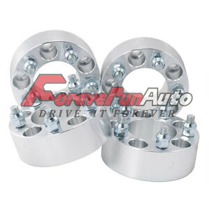 4pc 2 Wheel Spacers Adapters 5x4 5 For Jeep Wrangler Tj Yj Xj Kj Kk Zj Mj Ford