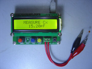 High Precision Inductance capacitance L c Meter Lc100 a