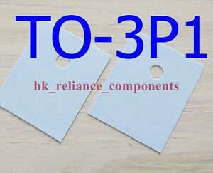 1000 Pcs Heat Sink Pad To 3p1 17x22mm Transistor Insulator Silicone Rubber Sheet
