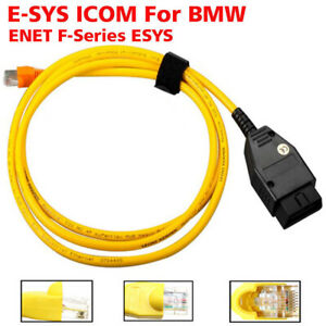 New Enet Compatible Obd2 Interface Cable E Sys Icom Coding For Bmw F Series Esys