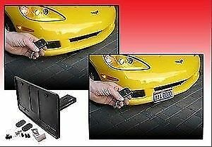 Automatic Powered Retractable License Plate Frame Fits All Cars Universal